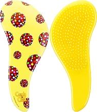 Profumi e cosmetici Spazzola per districare i capelli - KayPro Dtangler The Mini Brush Yellow