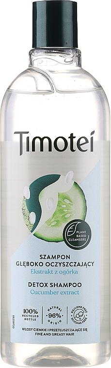 "Shampoo ""Detox-Care"" - Timotei Detox Fresh Shampoo"