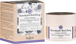 Profumi e cosmetici Crema notte nutriente levigante 30+ - Farmona Canadian BioLifting Black Spruce