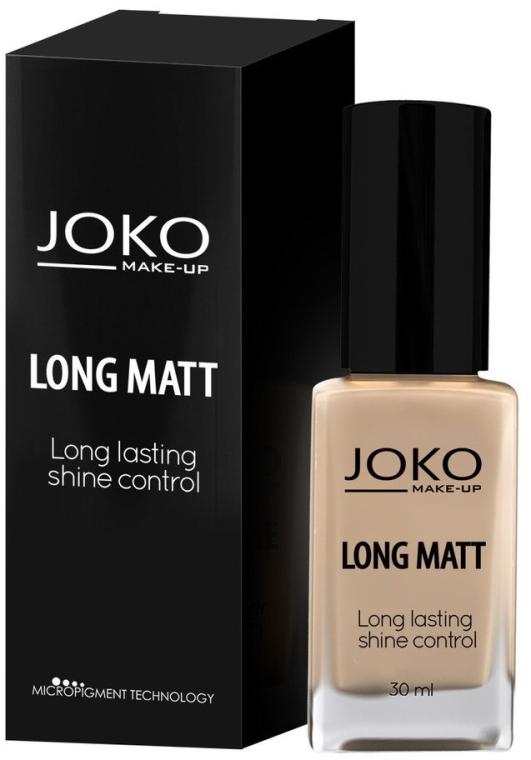 Fondotinta in crema - Joko Long Matt