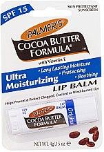 Profumi e cosmetici Balsamo labbra alla vitamina E. - Palmer's Cocoa Butter Formula Lip Balm SPF 15