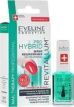 Profumi e cosmetici Siero per unghie in gel - Eveline Cosmetics Nail Therapy Professional Revitalum Pro Hybrid
