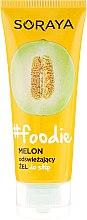 Profumi e cosmetici Gel piedi idratante - Soraya Foodie Melon Gel