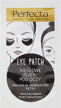 Profumi e cosmetici Patch occhi, con carbone - Dax Cosmetics Perfecta Eye Patch