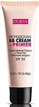 Profumi e cosmetici Crema idratante BB + primer - Pupa Professionals BB Cream+Primer