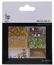 Profumi e cosmetici Mini Set Nail Art, 149312 - Peggy Sage Mini Kit Nail Art (6pz.)