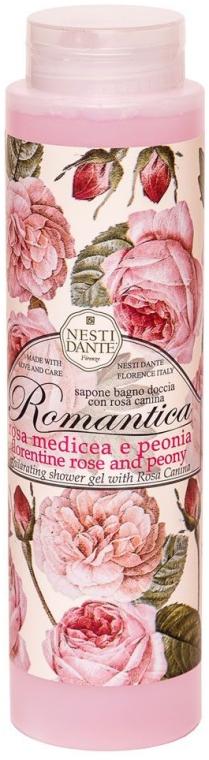 """Gel doccia """"Rosa e peonia"""" - Nesti Dante Romantica Shower Gel"""