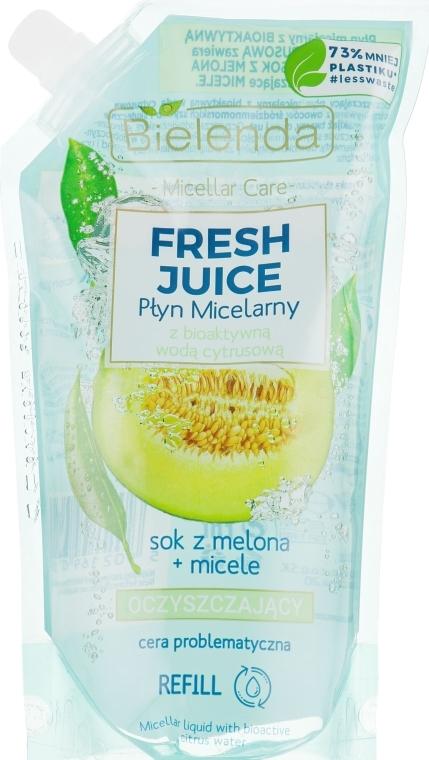 "Liquido micellare ""Melone"" - Bielenda Fresh Juice Detoxifying Face Micellar Water Melon"