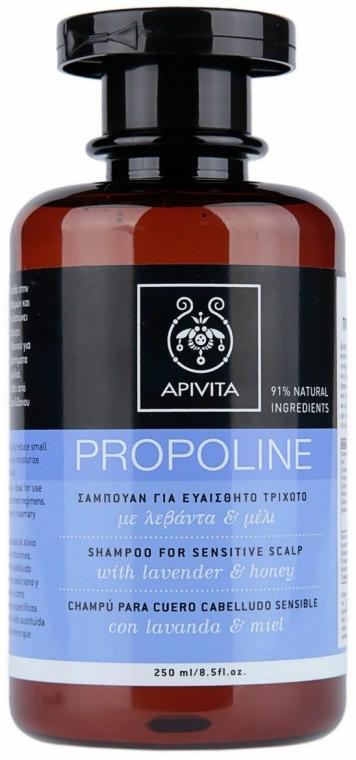 Shampoo con lavanda e miele - Apivita Shampoo For Sensitive Scalp With Lavender & Honey
