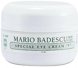 Profumi e cosmetici Crema contorno occhi speciale - Mario Badescu Special Eye Cream V