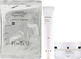 Profumi e cosmetici Set - ForLLe'd Platinum (cr/50g + eye/cr/9g + mask/2pcs)