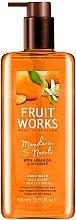 "Profumi e cosmetici Sapone mani ""Mandarino e Neroli"" - Grace Cole Fruit Works Hand Wash Mandarin & Neroli"