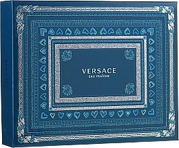 Profumi e cosmetici Versace Man Eau Fraiche - Set (edt 50ml + sh/gel 50ml + a/sh 50ml)