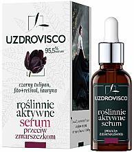 Profumi e cosmetici Siero idratante antirughe attivo - Uzdrovisco Black Tulip