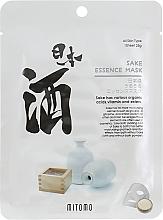 Profumi e cosmetici Maschera viso in tessuto - Mitomo Sake Essence Mask