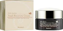 Profumi e cosmetici Crema viso rivitalizzante alla bava di lumaca - Deoproce Snail Recovery Cream