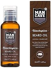 Profumi e cosmetici Olio da barba - Man Cave Blackspice Beard Oil