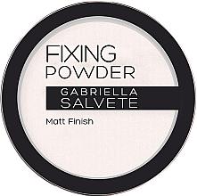 Profumi e cosmetici Cipria fissante - Gabriella Salvete Fixing Transparent Powder