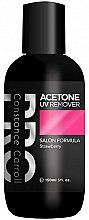 Profumi e cosmetici Solvente per smalto - Constance Carroll Aceton UV Remover Strawberry