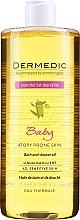 Profumi e cosmetici Olio da bagno e doccia - Dermedic Linum Emolient Baby