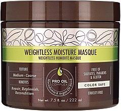 Profumi e cosmetici Maschera idratante capelli - Macadamia Natural Oil Weightless Moisture Masque