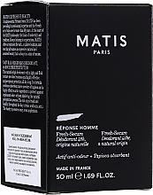 Profumi e cosmetici Deodorante - Matis Reponse Homme Fresh Secure Deodorant 48H Natural Origin