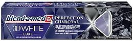 """Profumi e cosmetici Dentifricio """"Sbiancante 3D"""", con estratto di carbone - Blend-a-med 3D White Luxe Charcoal"""