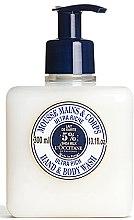 Profumi e cosmetici Mousse detergente ultra-nutriente per mani e corpo - L'occitane Shea Butter Ultra Rich Hand & Body Wash