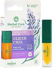Profumi e cosmetici Olio idratante labbra - Farmona Herbal Care Lip Superoil Chia Oil