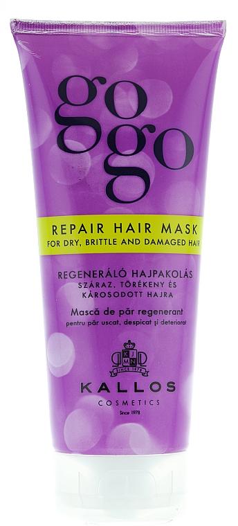 Maschera per capelli rigenerante - Kallos Cosmetics Gogo Repair Conditioner For Dry Hair