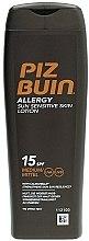 Profumi e cosmetici Crema solare corpo - Piz Buin Allergy Sun Sensitive Skin Lotion SPF15