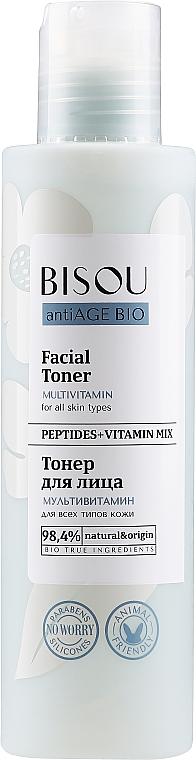 """Tonico viso """"Multivitaminico"""" - Bisou AntiAge Bio Facial Toner"""