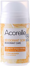 Profumi e cosmetici Deodorante - Acorelle Deodorant Care Limone & Moringa