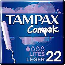 Profumi e cosmetici Tamponi con applicatore, 22 pz - Tampax Compak Light