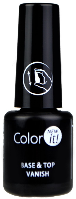 Base per unghie 2 in 1 - Silcare Color It Base Top Coat 2 in 1