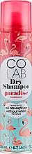 """Profumi e cosmetici Shampoo secco capelli """"Cocco"""" - Colab Paradise Dry Shampoo"""