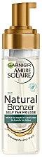Profumi e cosmetici Mousse abbronzante - Garnier Ambre Solaire Natural Bronzer Intense Clear Self Tan Mousse