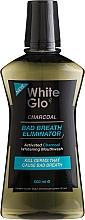 Profumi e cosmetici Collutorio - White Glo Charcoal Bad Breath Eliminator Mouthwash