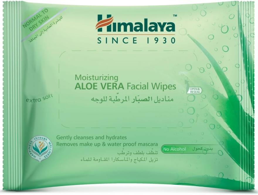 Salviettine idratanti per viso all'Aloe Vera - Himalaya Moisturizing Aloe Vera Facial Wipes