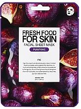 "Profumi e cosmetici Maschera viso ""Fico"" - Superfood For Skin Facial Sheet Mask Fig Purifying"