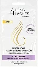 Profumi e cosmetici Maschera-siero per capelli - Long4Lashes Hair Plex Power