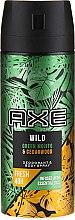 Profumi e cosmetici Antitraspirante-aerosol - Axe Wild Green Mojito & Cedarwood