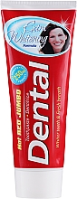 Profumi e cosmetici Dentifricio extra sbiancante - Dental Hot Red Jumbo Extra Whitening Toothpaste