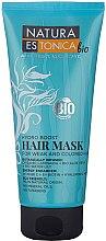 Profumi e cosmetici Maschera per capelli deboli e tinti - Natura Estonica Hydro Boost Hair Mask