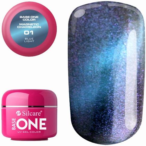 Gel per unghie - Silcare Base One Magnetic Chameleon UV Gel Color