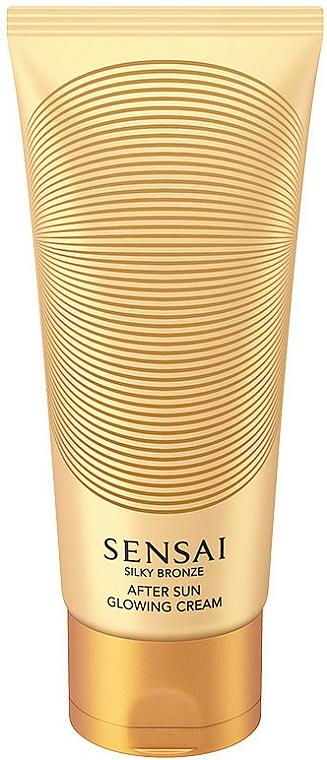 Crema corpo scintillante - Kanebo Sensai Silky Bronze After Sun Glowing Cream — foto N1
