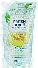 """Profumi e cosmetici Liquido micellare """"Melone"""" - Bielenda Fresh Juice Detoxifying Face Micellar Water Melon"""