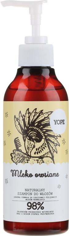 Shampoo naturale al latte di avena - Yope Hair Shampoo