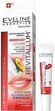 Profumi e cosmetici Siero per labbra - Eveline Cosmetics Lip Therapy Professional Awocado Intensive Lip Serum