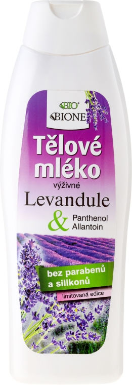 Lozione corpo - Bione Cosmetics Lavender Body Lotion